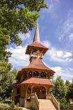 Wooden church from Maramures in Soroca, Moldova. Traditional wooden church from Maramures county, in Soroca city Moldova Royalty Free Stock Photography