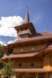 Wooden church from Maramures in Soroca, Moldova. Traditional wooden church from Maramures county, in Soroca city Moldova Royalty Free Stock Image