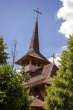 Wooden church from Maramures in Soroca, Moldova Stock Photo