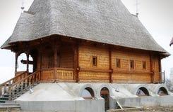 Wooden church in Moldova Royalty Free Stock Photos