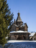 Wooden Church of Nativity of Virgin, 16th centry Stock Photo