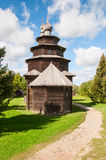 Wooden church in north west Russia Stock Image