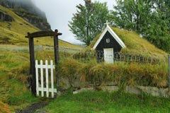 Wooden church of Nupstadur Royalty Free Stock Photo