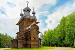 Wooden church Royalty Free Stock Photos