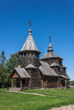 Wooden church Royalty Free Stock Photo