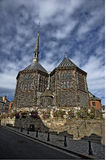 Wooden church. Oldest wooden church in europe ,honfleur france Stock Image