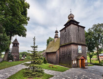 Wooden church in Rabka, Malopolska, Stock Photography
