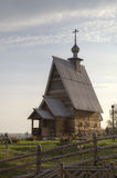 Wooden Church of the Resurrection (Voskresenskaya) (1699) on Levitan's mountain. Ples Royalty Free Stock Photo