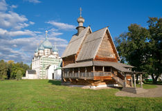 Wooden Church of Saint Nicholas Stock Images