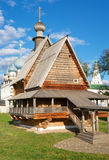 Wooden Church of Saint Nicholas. In Kremlin of Suzdal (Golden Ring of Russia Stock Images