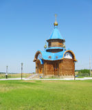 The wooden church Stock Image