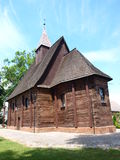 Wooden church in Silesia, Poland Stock Image