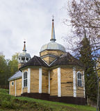 Wooden Church of St. apostle Peter was built in 1721 Royalty Free Stock Photography