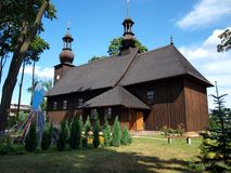 Wooden Church of St. Dorothy . Stock Photography