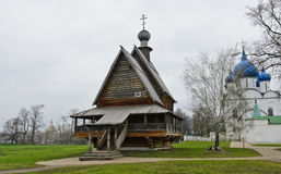 Wooden Church of St. Nicholas Royalty Free Stock Image