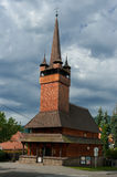 Wooden church of St. Parasks in Blansko. Stock Photography