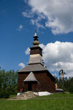 Wooden Church_Stara Lubovna Stock Photo