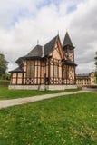 Wooden church in Stary Smokovec Stock Photo