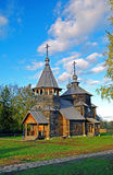 Wooden church in the Suzdal museum. Stock Photography