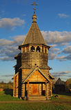 Wooden church in the Suzdal museum. Stock Images