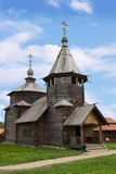 The wooden church in Suzdal museum, Russia Royalty Free Stock Image