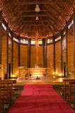 Wooden church in Thailand Stock Image