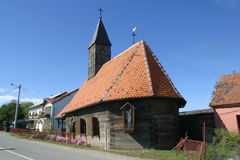 Wooden church, Royalty Free Stock Image