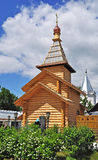 Wooden church in Trinity convent of Murom, Russia Royalty Free Stock Photo