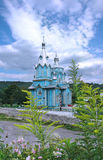 Wooden Church in Ukraine Stock Photography
