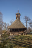 Wooden church in Village Museum Royalty Free Stock Images