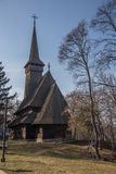 Wooden church in Village Museum Royalty Free Stock Photo