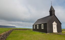 Wooden church Stock Image
