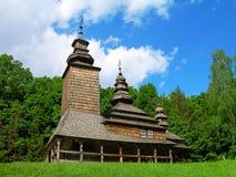 Wooden church of XVII century, Kyiv, Ukraine Royalty Free Stock Photo