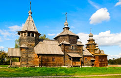 Wooden Churches Royalty Free Stock Images