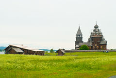 Wooden churches on Kizhi Stock Photography