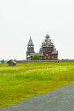 Wooden churches on Kizhi Royalty Free Stock Photography