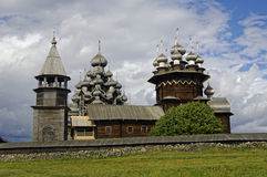 Wooden churches. Russia. Stock Images