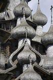Wooden churches. Russia, Kizhi island. Stock Photos