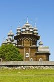 Wooden churchs on Kizhi island, Russia Stock Image