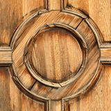 Wooden circle Royalty Free Stock Photography