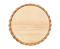 Wooden circle Stock Images