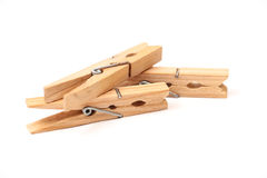Wooden clamps Stock Image