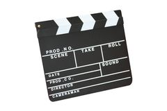 Wooden Clapperboard Royalty Free Stock Image