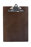 Wooden Clipboard (with Path) Royalty Free Stock Photography