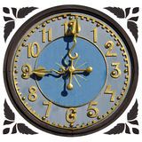 Wooden Clock Stock Images