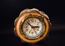 wooden clock Stock Photography