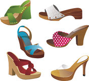 Wooden Clogs Stock Image