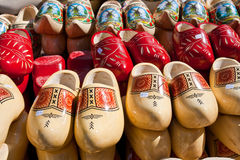 Wooden clogs Stock Photo