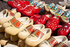 Wooden clogs Stock Photos
