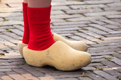 Wooden clogs Royalty Free Stock Images